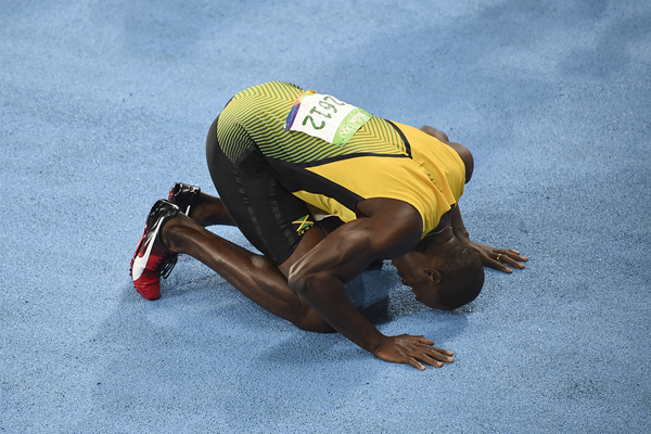 Of all Usain Bolt's many achievements, maybe the most impressive was how consistent he was in major competitions.